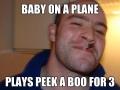 Good guy on flight