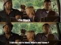 He's Black