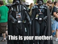 Luke this is your mother!
