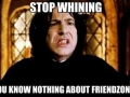Snape got it right