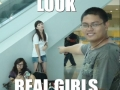 Look! Real Girls!
