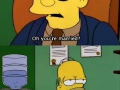 Homer in an interview