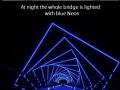 Neon Footbridge