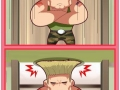 How Guile does his hair