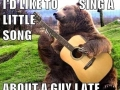 I'd like to sing a song..