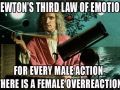 Newton's 3rd Law of Emotion