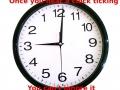 Scumbag clock