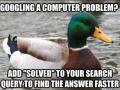Googling a pc problem?