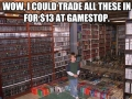 When trading games