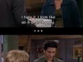 Flirting lvl Ross Geller