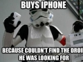 Couldn't find droid