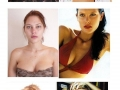 Supermodels without makeup