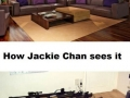 How Jackie Chan sees it
