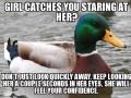 Girls like confidence