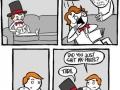 Do NOT scare a magician