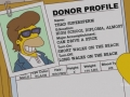 Homer's Donor Profile