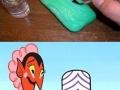 A soapy prank