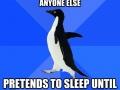 I hated sleepovers
