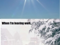 Hate winter in Europe!