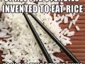 Chopsticks and Rice