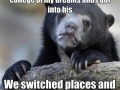 Confession Bear = Win