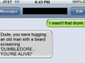 Dumbledore! You're alive!