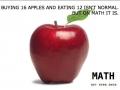 Grade school math logic