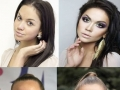 Before & after make-up