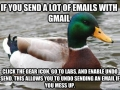 For those using gmail
