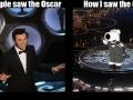 How I saw the Oscars...