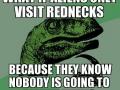 What if aliens visit rednecks