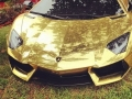 Golden Lamborghini