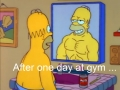 After my first day at gym