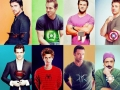 Actors & their characters