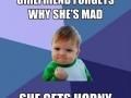H*rny girlfriend