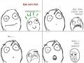 Heavy fart