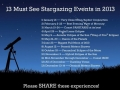 Stargazing Events Of 2013