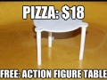 Action figure table