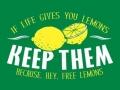 Hey.. free lemons!