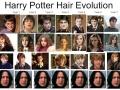 Harry Potter hair evolution