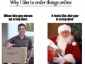 Best part of ordering online