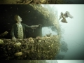 An underwater museum