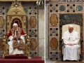 Differences between popes