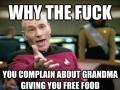 Love eating at grandma's