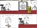 Buying alcohol rage