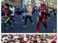 A marathon race in Japan