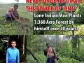 Man plants 1360 acre forest