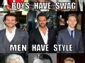 Swag vs Style vs Class