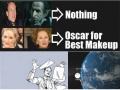 Oscar for best makeup