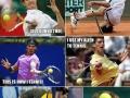 I forgot how to tennis